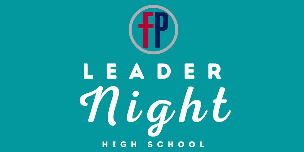 FP Leader Night (HS)