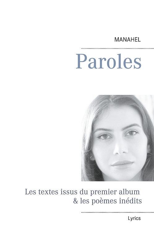 Livre Manahel - Paroles