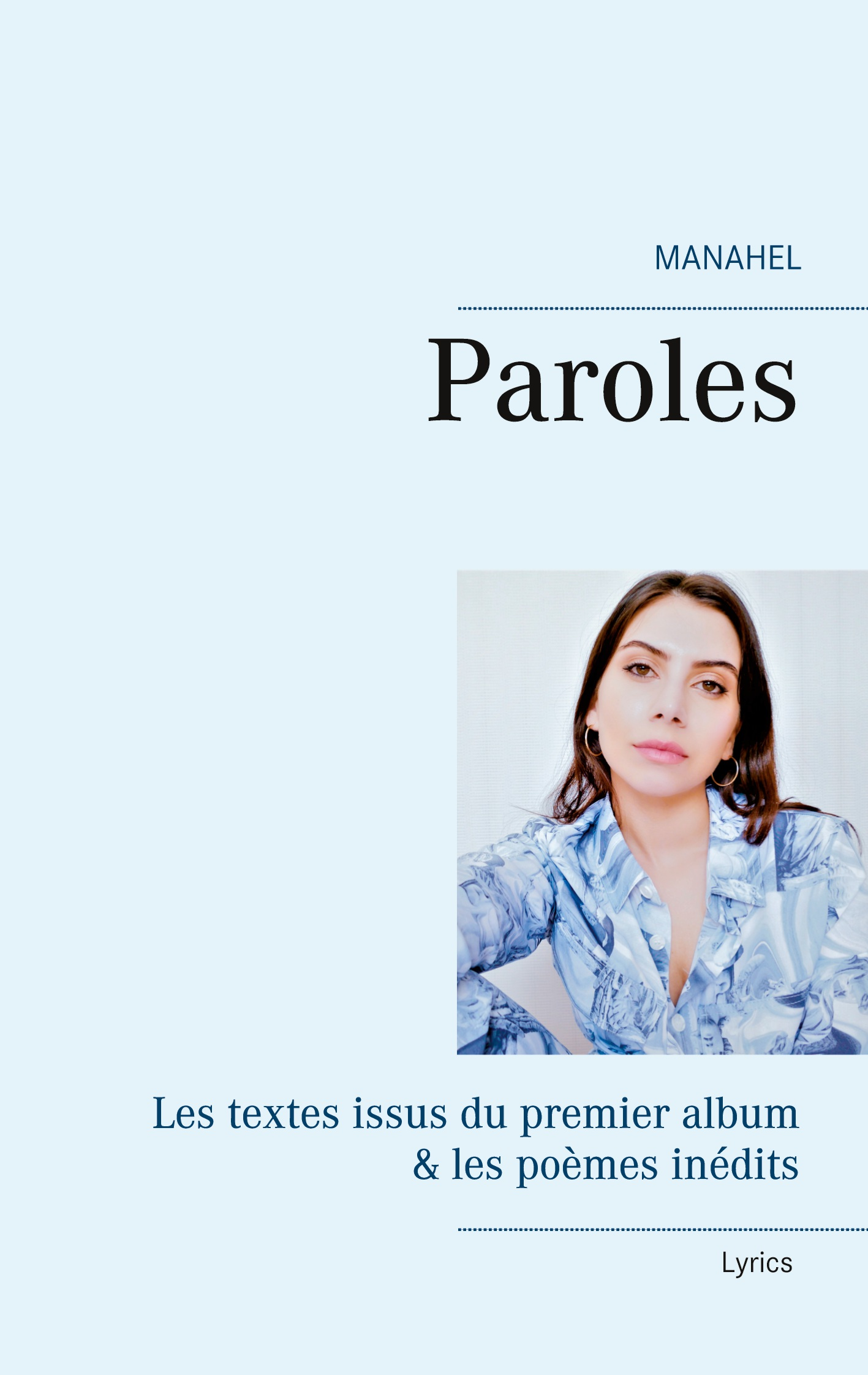 "Livre ""Manahel-Paroles"" disponible"