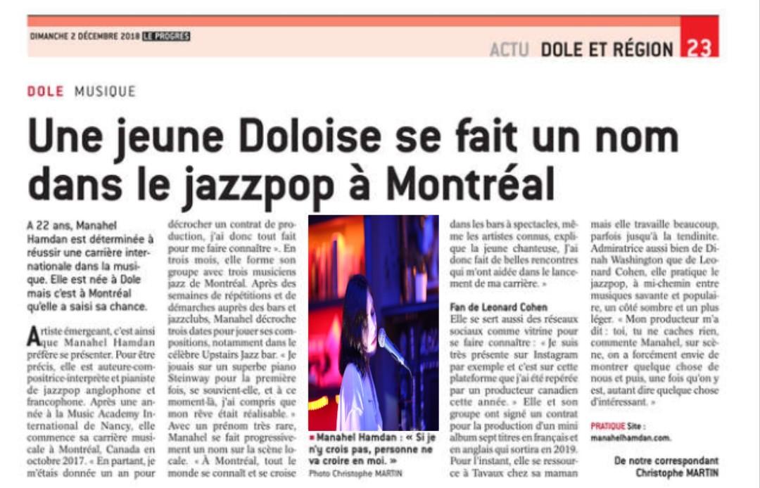 Article de presse FR