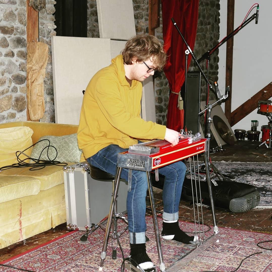 Guitarist Zachary Boileau