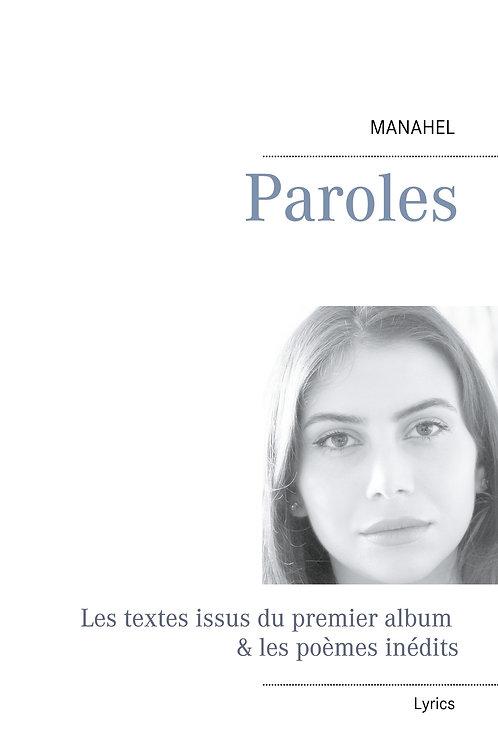 """Livre numérique """"Manahel-Paroles"""""""