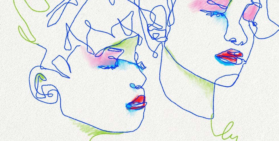 Art Print - Duo