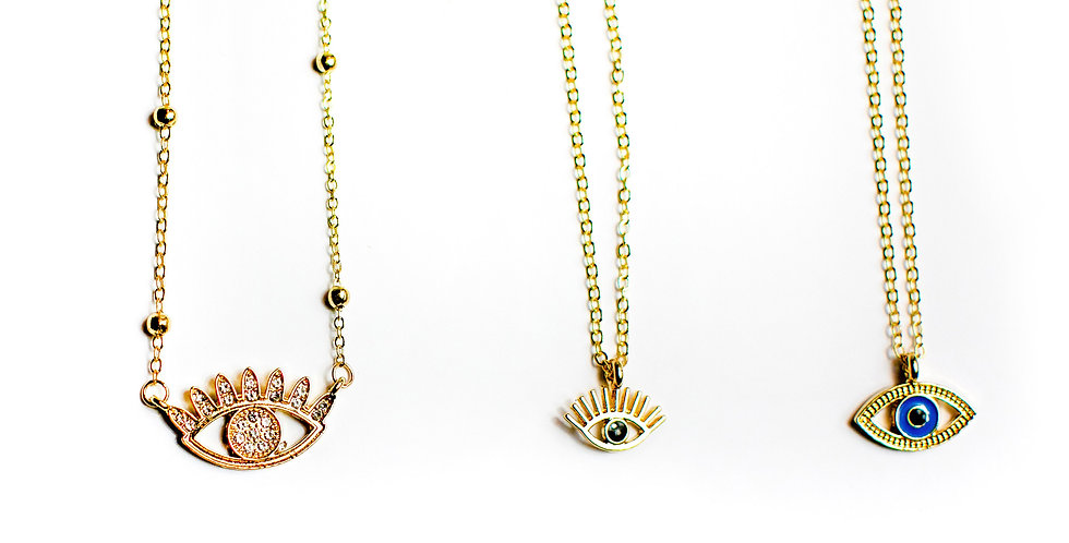 Halskette Eye