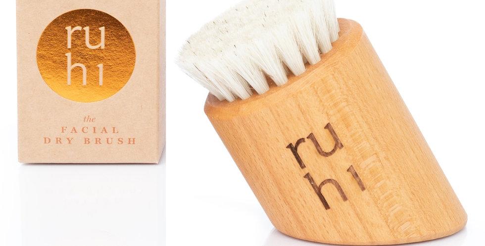 Gesichtsbürste aus 100% Naturborsten