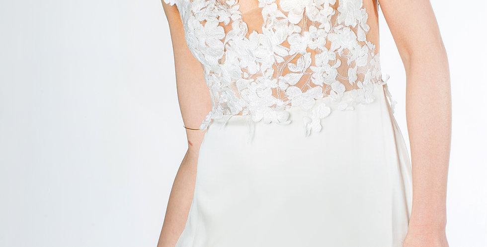 Verspieltes Brautkleid Silluk