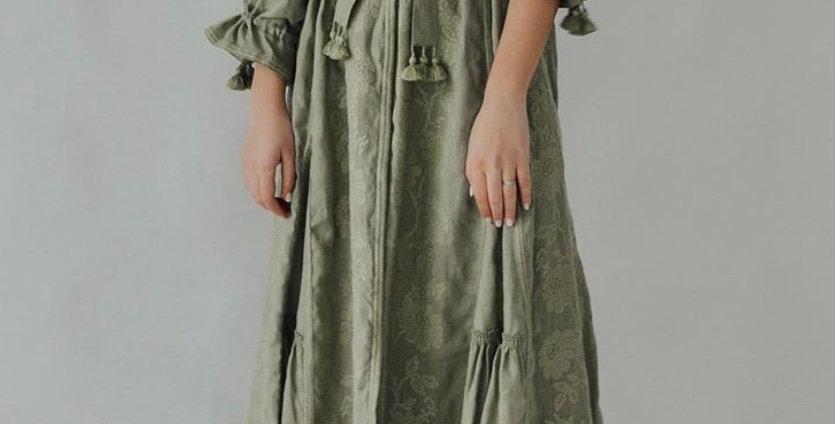 Boho Kleid mit Stickerei