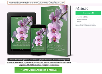 Manual Descomplicando cultivo de orquíde