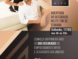 MYRÁ - Abertura dos Decorados - 17/03