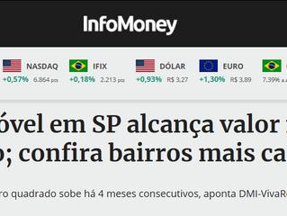Preço do imóvel em SP alcança em Outubro, valor mais alto do ano