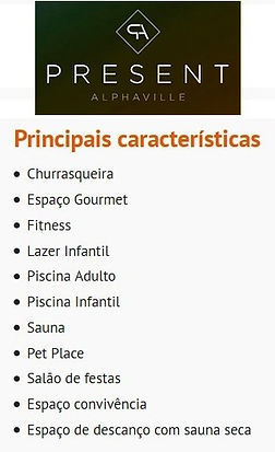 Present Alphaville - Características