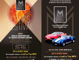 Test Drive Ferrari e Drink Festival MYRÁ
