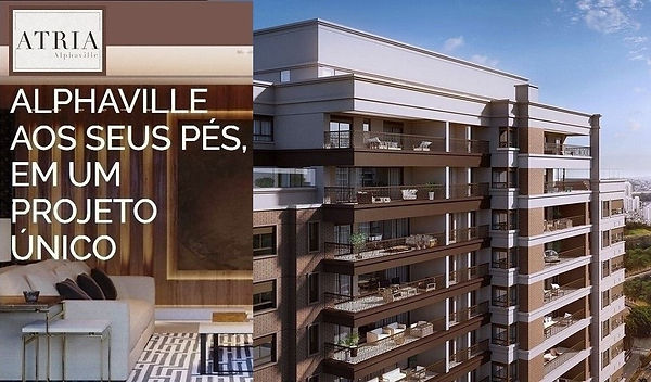 Atria Alphaville - Terraços 360