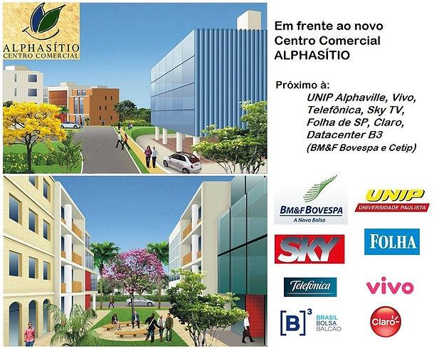 Escritório Próximo Alphasítio Centro Comercial