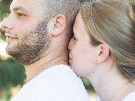 Séance d'engagement de Corinne et Mathieu
