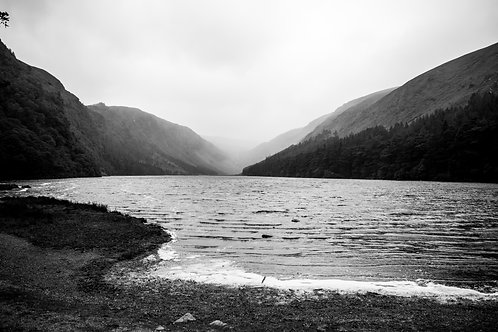 Upper Lake (black and white)