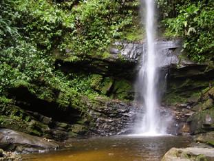 The Ahuashiyacu Waterfalls