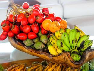 Delicious local fruits