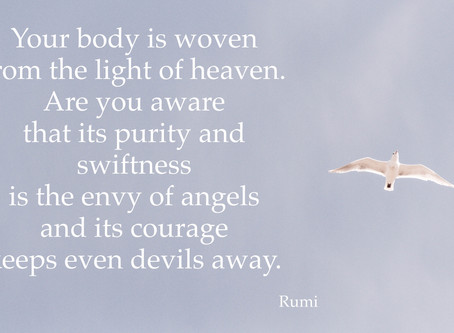 The beauty and challenge of being Embodied Spirits