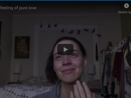 The feeling of pure love - unedited