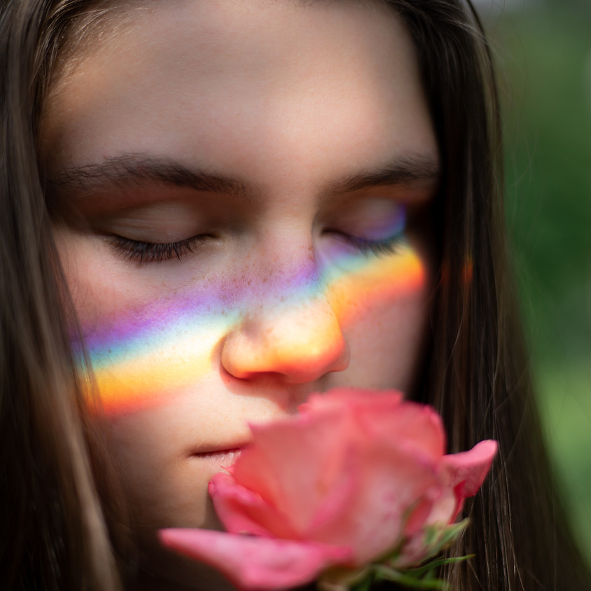A Female Rainbow
