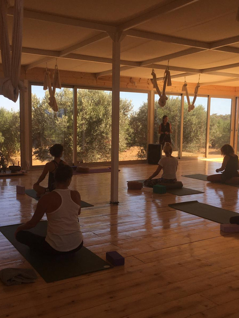 The Artemis Yoga Shala at Okreblue