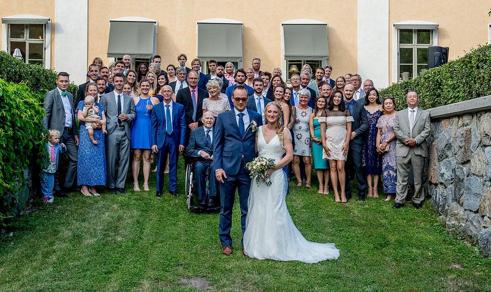 Amerikansk / Svensk Bröllop 2019, Fotograf: KGZ Fougstedt