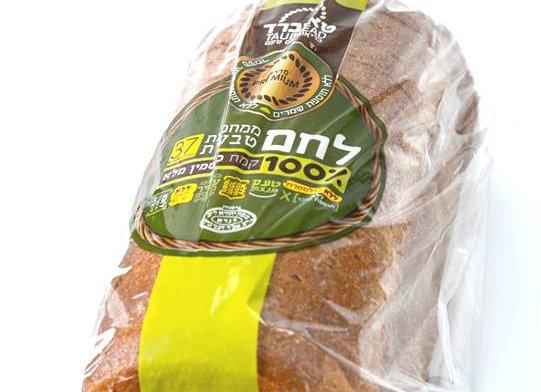 לחם מחמצת טבעית 100% כוסמין מלא טאוברד