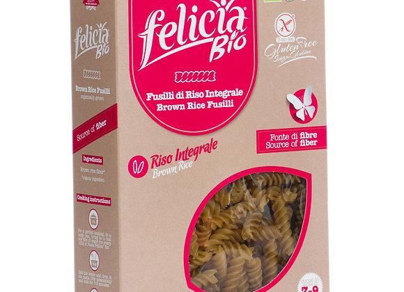 פליסיה - פסטה מאורז מלא אורגנית ללא גלוטן -פוזילי