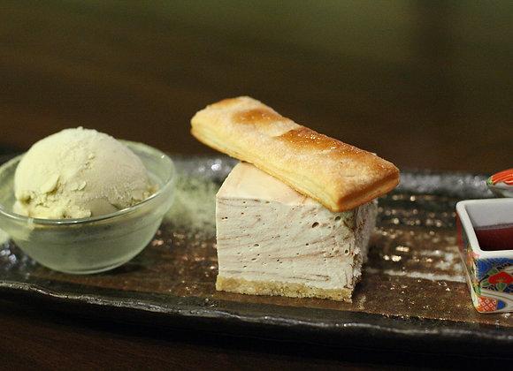 עוגת גבינה ביסקוויטים זוגית