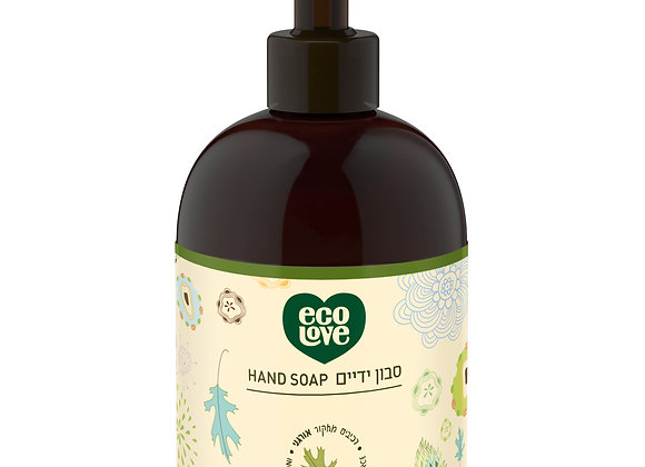 אקו לאב -סבון ידיים מרכיבים טבעיים ואורגניים, סדרה ירוקה