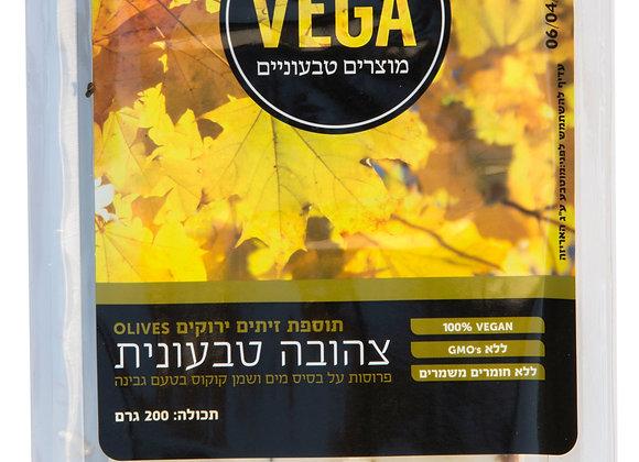 VEGA - צהובה טבעונית - זיתים