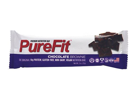 חטיף חלבון פיורפיט - בטעם בראוניז שוקולד