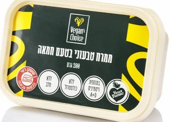 ממרח טבעוני בטעם חמאה Vegans Choice