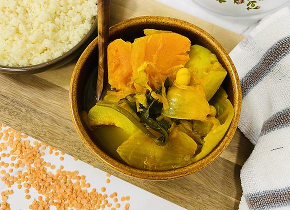 מרק ירקות (להיט לקוסקוס)