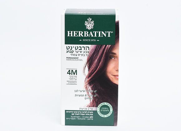 הרבטינט צבע שיער קבוע על בסיס צמחי - מהגוני