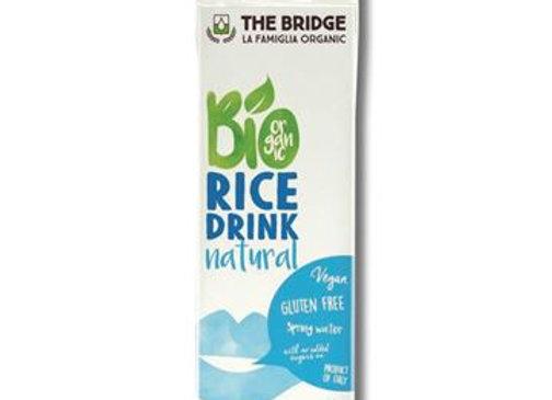 משקה אורז אורגני לנמנעים מגלוטן וללא תוספת סוכר - דה ברידג`