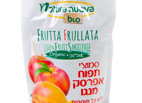 נטורה נובה - סמוצ´י תפוח אפרסק מנגו אורגניים