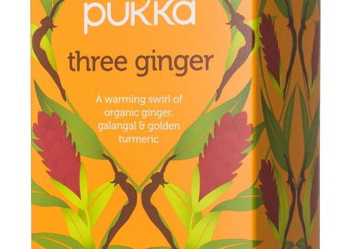 pukka - תה 3 ג`ינג`ר אורגני