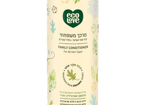 אקו לאב - מרכך לשיער עם ירקות ירוקים אורגנייים