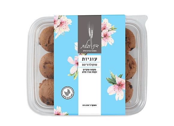 דני וגלית - עוגיות שוקולדצ׳יפס מקמח שקדים