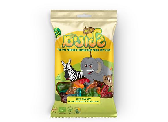 ג'לונים- סוכריות גומי אורגניות בצורת חיות בטעם פירות