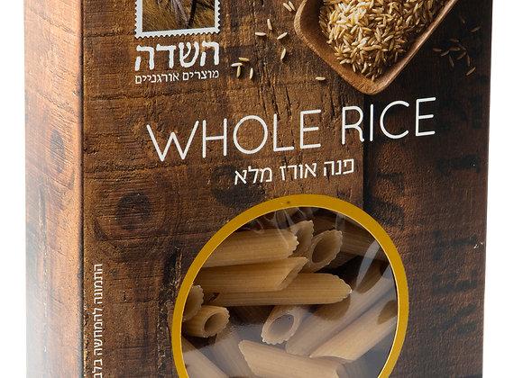 פנה אורז מלא אורגני ללא גלוטן - השדה