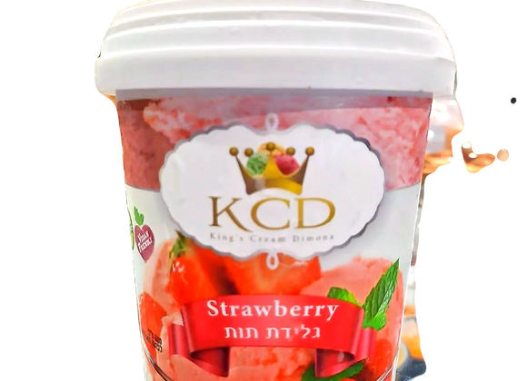 KCD - גלידת תות