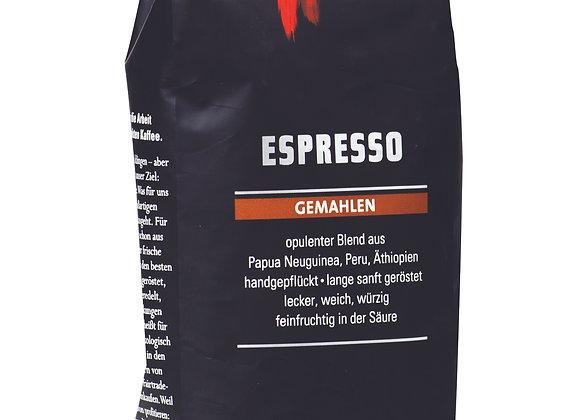 קפה אורגני קלוי וטחון לאספרסו - מאונט האגן