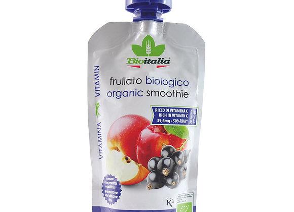 מחית אורגניות תפוחי עץ ואוכמניות ללא תוספת סוכר - ביו איטליה