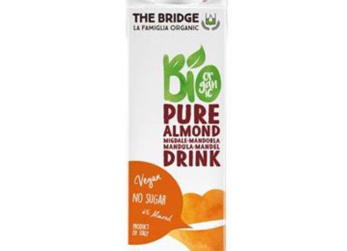 משקה שקדים 6% אורגני ללא גלוטן ללא תוספת סוכר - דה ברידג`