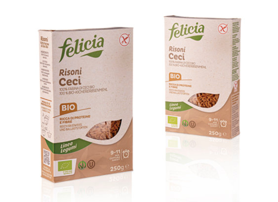 פליסיה - 100% חומוס אורגני בצורת אורז