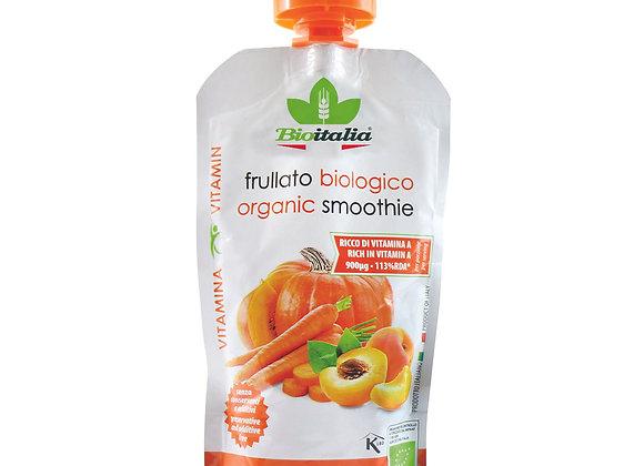 מחית אורגניות גזר, משמש ודלעת ללא תוספת סוכר - ביו איטליה