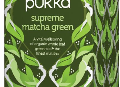 pukka - תה ירוק מאצ'ה
